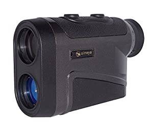 Uineye Rangefinder - Range : 5-1600 Yards, +/- 0.33 Yard Accuracy, Laser Rangefinder with Height, Angle, Horizontal Distance Measurement Perfect for Hunting, Golf, Engineering Survey