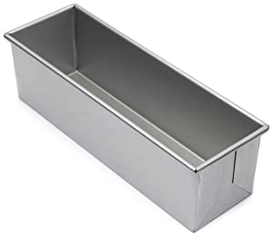 Focus Foodservice Commercial Bakeware 1 1/2 Pound Pullman Pan