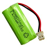 Hitech - Replacement Cordless Phone Battery for Some VTech Phones, Equivalent to BT183342, BT283342 Batteries