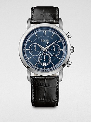 BOSS HUGO BOSS 'Classic' Round Chronograph Watch, 40mm