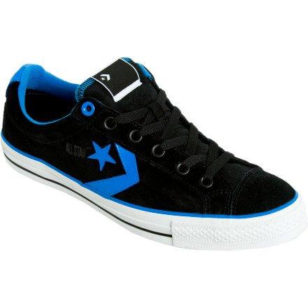 Converse Star Player Black Blue