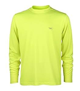 Favourite Jogging-Shirt mit langen Ärmeln, Oberteil für Herren S Gelb