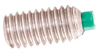 4-40 Thd., 1/8 Lg., Nylon Tipped Hex Socket Set Screws (1 Each)
