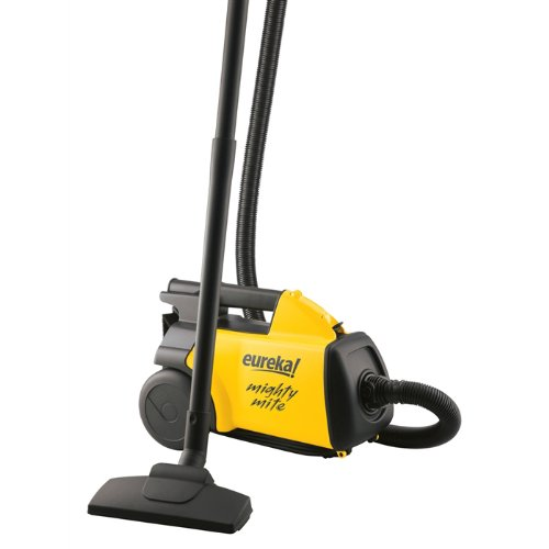 Mighty Mite Canister Vacuum, Yellow/Black-By Eureka