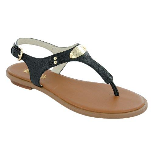 44e992720ed Michael By Michael Kors Women s MK Plate Flat Thong Sandals - Import ...