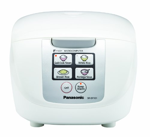 "Panasonic SR-DF181 10-Cup (Uncooked) ""Fuzzy Logic"" Rice Cooker"