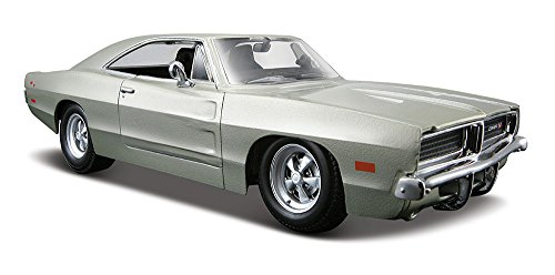 Maisto-125-Scale-1969-Dodge-Charger-RT-Diecast-Vehicle-Colors-May-Vary