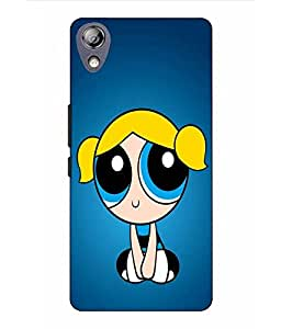 Make My Print Bubbles Printed Blue Hard Back Cover For Lenovo P70