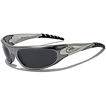 X-Loop Lunettes de Soleil - Sport - Cyclisme - Ski - Conduite - Motard / Mod. 2610 Gris / Taille Unique Adulte / Protection 100% UV400