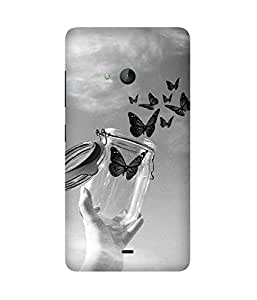 Free Butterfly Microsoft Lumia N540 Case