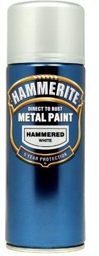 hammerite-direct-to-rust-metal-paint-aerosol-hammered-finish-400ml-white-by-hammerite