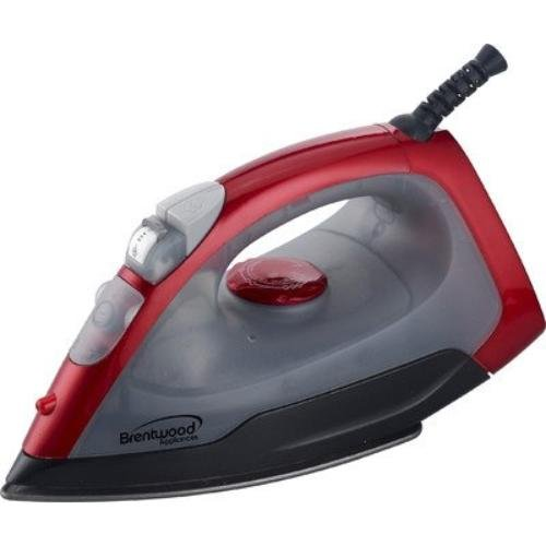 Brentwood Appliances MPI-54 Steam/Spray/Dry Iron, Red