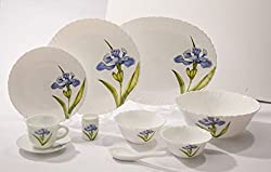 La Opala 27 Pc Dinner set - Royal Iris