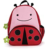 Skip Hop Zoo Pack Little Kid Backpack, Ladybug