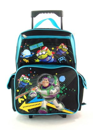 Full Size Game On Toy Story Rolling Backpack