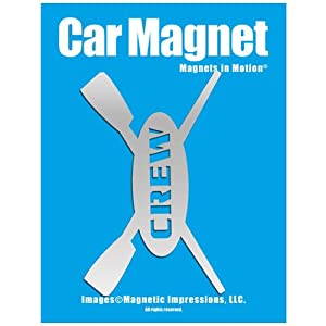 Buy Crew Rowing Car Magnet by Magnets In Motion®
