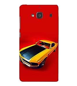 EPICCASE camero Mobile Back Case Cover For Mi Redmi 2s (Designer Case)