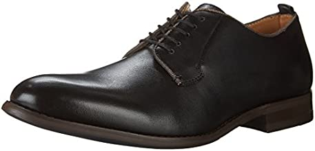 Aldo Men's Taliesin Derby Shoes, Black Leather, 10 D US