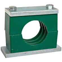 "Brennan CPS Series Steel Pipe Clamp, 3/4"" Band Width, 1.05"" Maximum Diameter"