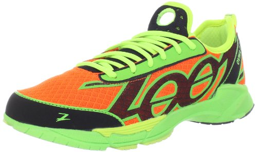 Zoot Men's Ovwa 2.0 Running Shoe,Blaze/Safety Yellow/Green F