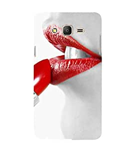 EPICCASE hot lips Mobile Back Case Cover For Samsung Galaxy On5 (Designer Case)