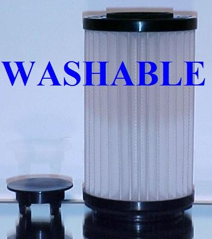 Type DCF-1 / DCF-2 HEPA filter for Kenmore and Panasonic upright bagless vacuum cleaners. Long-Life Washable and Reusable. By Green Label. (Kenmore White Vacuum compare prices)