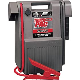 Truck Pac Industrial-Grade 12 Volt Jump Starter and Power Source - 3000 Peak ...