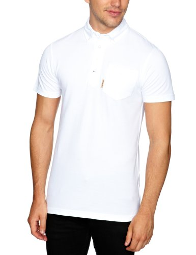 STONE DRI Rowsley Polo Men's T-Shirt White Small