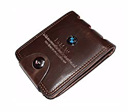 Finz Mens Wallet Brown Casual