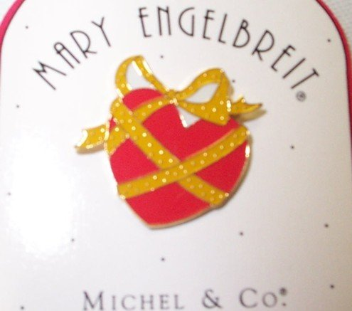 Mary Engelbreit Collectible Heart Pin