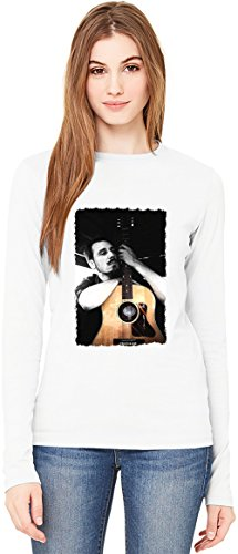 Alligatoah Guitar T-Shirt da Donna a Maniche Lunghe Long-Sleeve T-shirt For Women| 100% Premium Cotton Ultimate Comfort XX-Large