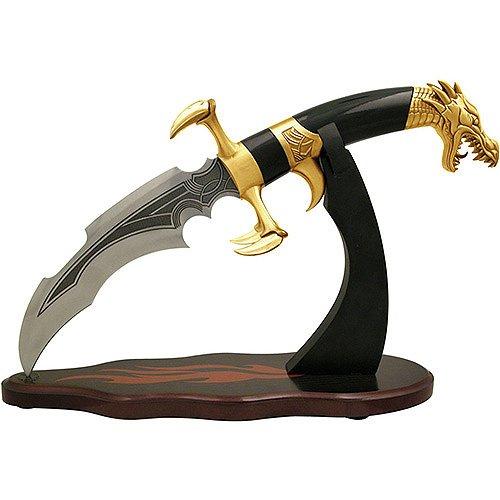 Dragon Claw Fantasy Dagger Gold By Tom Anderson