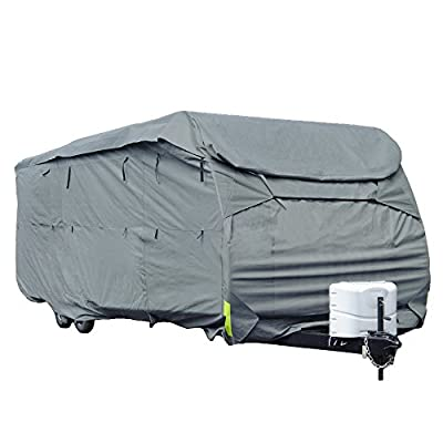 Budge RVRB-54 Gray Standard Toy Hauler Polypropylene RV Cover