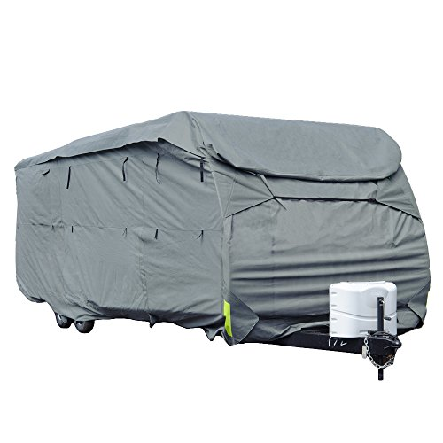 Budge Toy Hauler RV Covers Fits Toy Hauler RVs up to 29' Long (Gray, Polyproplyene) (Rv Cover Budge compare prices)