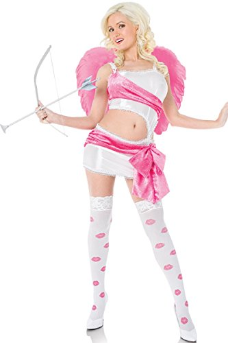 Playboy Women's Cupid Costume Valentines Day Angel