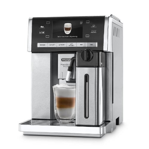 Delonghi Prima Donna Exclusive Super Automatic Espresso Machine With Hot Chocolate System