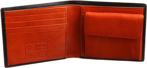 [タケオ キクチ] TAKEO KIKUCHI アルド 二つ折り財布 カード7段 177623 BLK (クロ)