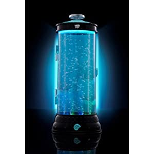 Mattel V7963 - Monster High Lagoonas Wasser-Station, produziert Wassenblasen, leuchtet dreifarbig
