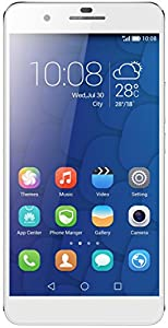 Honor 6 Plus 4G Dual SIM-Free Smartphone (5.5-inch Full HD Screen, 8 MP Dual Rear Camera, 3 GB RAM, Android) - White