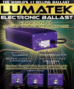Advanced Nutrition Lumatek - 600W Electronic Ballast - Dimmable -