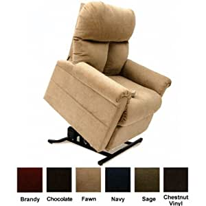 Mega Motion Lift Chair Recliner LC-100 Infinite Position (fawn)