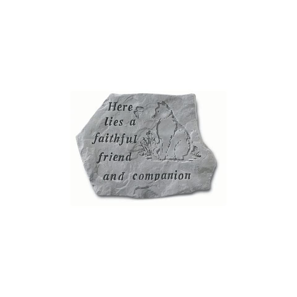 Cat Memorial Faithful Friend Cat Memorial Stone