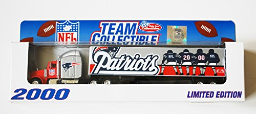 New England Patriots 2000 Team Collectible Trailer Limited Edition