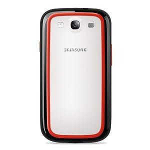Belkin Surround Case (2er-Pack) für Samsung Galaxy S3 schwarz-ice & schwarz-rot