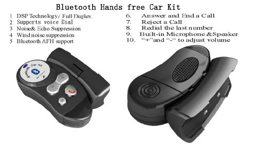 Steering Wheel Bluetooth Hf Hands Free With Answer And End A Call Function