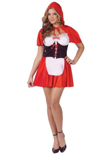 Fun World Red Hot Riding Hood Costume
