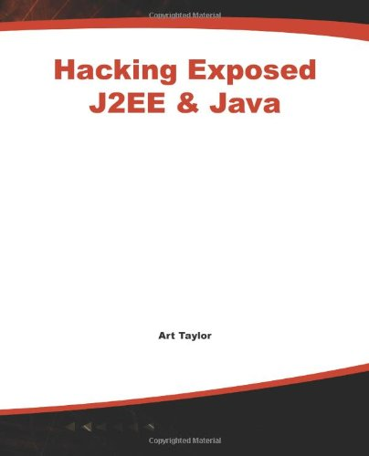 J2Ee & Java: Developing Secure Web Applications With Java Technology (Hacking Exposed) front-1039114