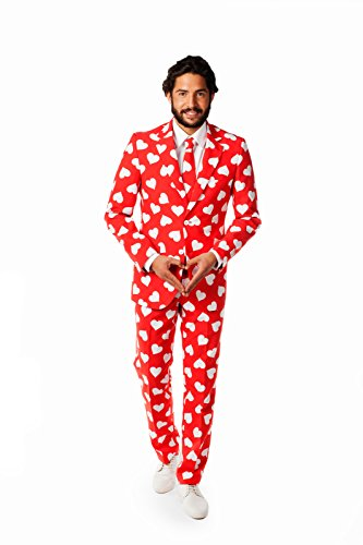 OppoSuits Men's Mr. Lover Lover Party Costume Suit