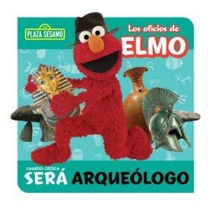 Plaza Sesamo Los Oficios de Elmo Libro del Rompecabezas ~ Arqueólogo (Puzzle Book)