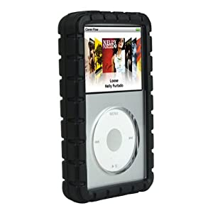 Speck ArmorSkin Case for 80/120/160 GB iPod classic 6G (Black)